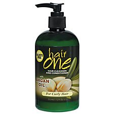 Hair One Cleanser and Conditioner  Argan Oil