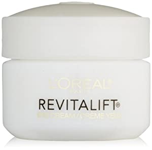 L'Oreal Paris RevitaLift Anti-Wrinkle + Firming Eye Cream, 0.5 Fluid Ounce