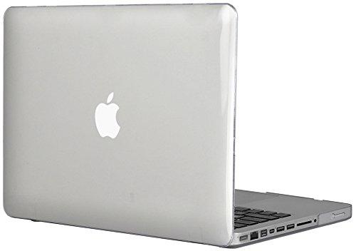 """Topideal-Custodia rigida di protezione per MacBook Pro 13 """", Non 33,78 (13,3 Retina cm] (modello: A1278) trasparente"""