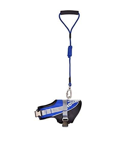 Helios Bark-Mudder Easy Tension 3M Reflective Endurance 2-in-1 Adjustable Dog Leash/Harness