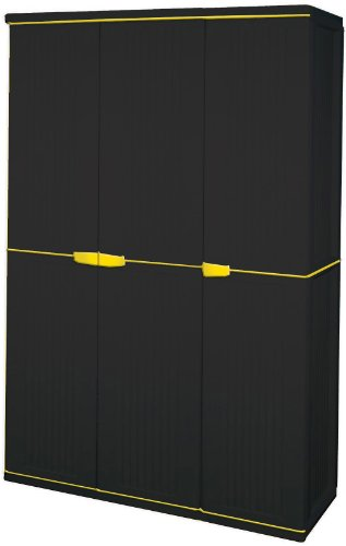 Gracious Living 3-Door Tall Storage Cabinet