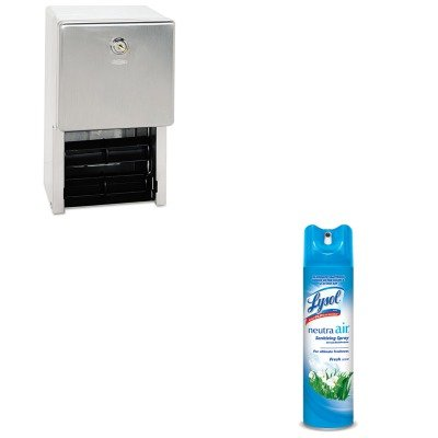 KITBOB2888RAC76938EA - Value Kit - ClassicSeries Surface-Mounted Multi-Roll Toilet Tissue Dispenser (BOB2888) and Neutra Air Fresh Scent (RAC76938EA) kitmmmc60stpac103637 value kit scotch value desktop tape dispenser mmmc60st and pacon riverside construction paper pac103637
