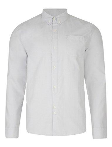 Bellfield - Camicia bianca Coda Oxford Uomo Taglia XL