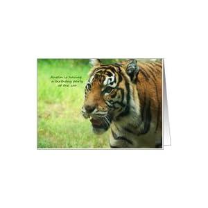 ... Children Birthday Party Zoo - Name Austin Card: Toy