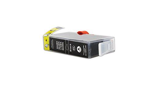 XL Officehandel Tinte (schwarz, Inhalt 20 ml, mit Chip) ersetzt HP CN684EE / Nr 364XL für HP Deskjet 3070, 3520, 3521, 3522, 3524; Deskjet D 5445, 5460; Officejet 4610, 4620, 4622; Photosmart 5510, 5514, 5515, 5520, 5522, 5524, 5525, 6510, 6520, 6525, 7510, 7520, eStation C 510, Plus B 209, Wireless B 109, Wireless e-All-in-One B 110; Photosmart B 109, 8550; Photosmart C 5324, 5370, 5373, 5380, 5383, 5388, 5390, 5393, 6324, 6380, 6383; Photosmart D 5445, 5460, 7560