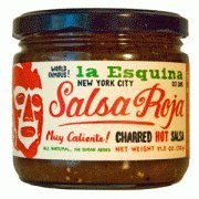 La Esquina Salsa Roja Hot 115 Oz Jar Pack Of 3 by La Esquina