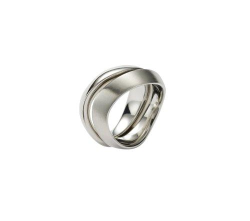 FOSSIL  JF85377040 Damen Ring Edelstahl 19