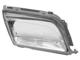6 inch -Chrome Passenger side WITH install kit 100W Halogen 2008 Suzuki SX4 Post mount spotlight