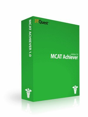 MCAT Achiever Medical College Admission Test Prep (Challenging CBT Questions with Detailed Solutions)
