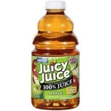 Juicy Juice All Natural 100 Percent Apple Juice, 48 Fluid Ounce Bottle -- 8 Per Case. front-592508