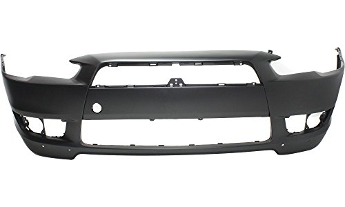 New Evan-Fischer EVA17872017847 Front BUMPER COVER Primed Direct Fit OE REPLACEMENT for 2008-2015 Mitsubishi Lancer *Replaces Partslink MI1000319 (Mitsubishi Lancer Replacement compare prices)