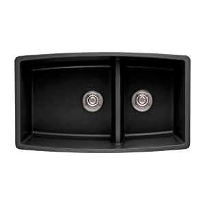 Blanco 441312 Performa 1.75 Medium Bowl Sink, Anthracite