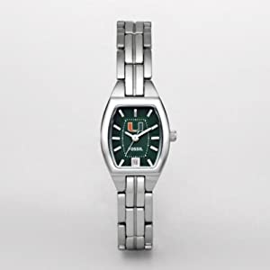 Fossil Ladies LI3025 NCAA Miami Florida Hurricanes Watch by Fossil