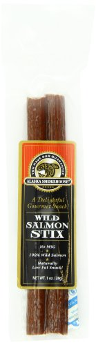 Alaska Smokehouse Wild Salmon Stix, 1 Ounce Bag