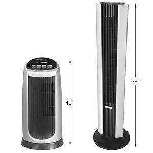 Bionaire Tower Fan & Mini Tower Fan Combo