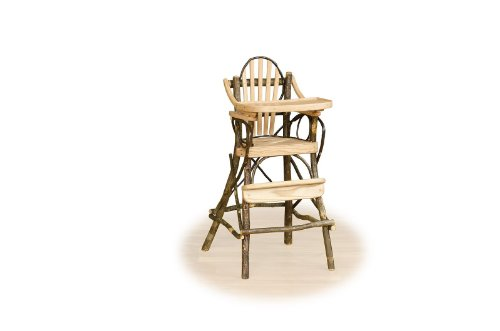 Awesome Rustic Hickory High Chair Hickory Logs And Oak Boards Machost Co Dining Chair Design Ideas Machostcouk