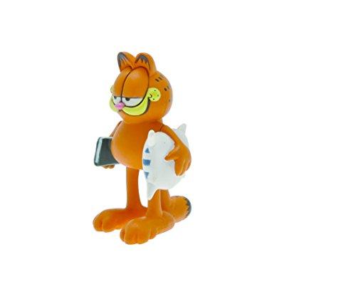 Figurina Garfield con cuscini