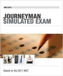 Mike Holt's Jouneyman Simulated Exam, 2011 NEC -  - MH-11JX - ISBN:1932685723