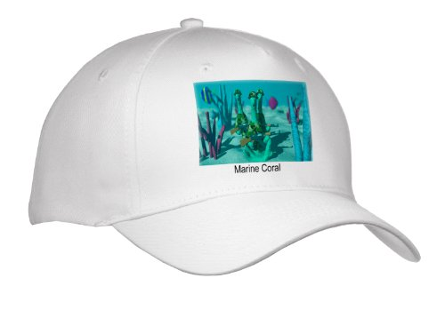 Marine Coral Fighing 4 Our Healthy Calcium - Adult Baseball Cap