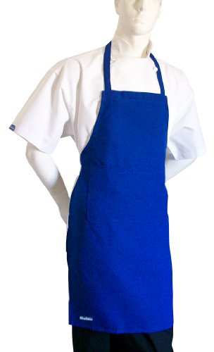 Adult Blue Set Apron + White Hat