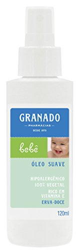 Linha Bebe Granado - Oleo Suave Erva Doce 120 Ml - (Granado Baby Collection - Fennel Delicate Oil 4.0 Fl Oz)