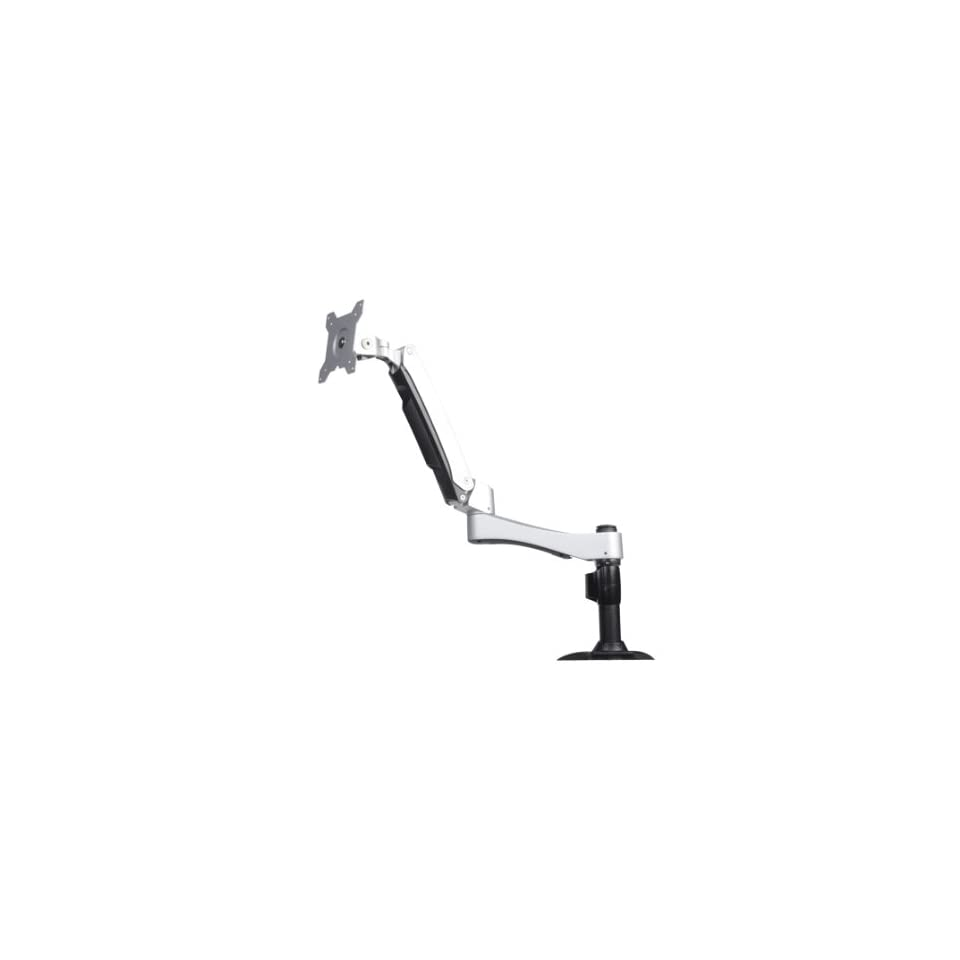 Silverstone Tek ARM One Articulating Single Arm Computer Monitor Desk Mount/Mounting Bracket (ARM11SC)