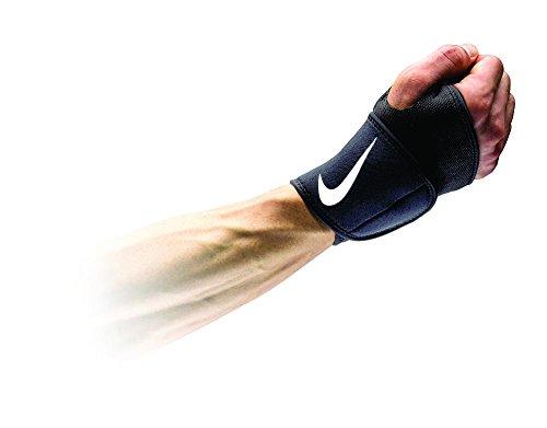 Nike Pro Combat Wrist & Thumb Wrap 2.0 (OSFM Black/White)