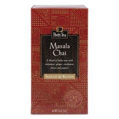 * Tea Bags, Masala Chai, 2.5 Oz, 25/Box
