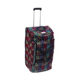 Roxy Wheeled Travel Luggage 110L - Wait A Minute Multi Coloured