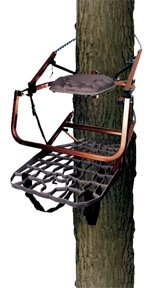 Lone Wolf Wide Flip Top Climber Treestand Deer Hunting Climbing Made in USA NEW Picture