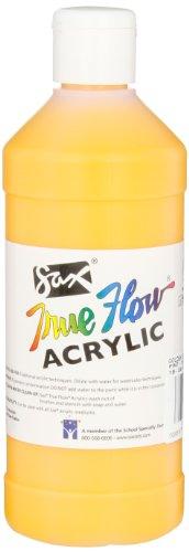 Sax True Flow Medium-Bodied Acrylic Paint - Pint - Yellow Orange