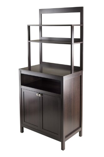 Winsome Jamie Cabinet 2-Door with Hutch