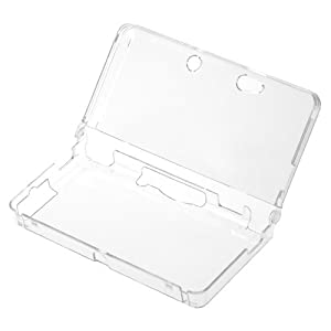 GTMax Crystal Clear Snap On Protector Cover Case for Nintendo 3DS