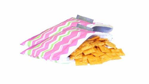 itzy-ritzy-snack-happened-lot-de-2-petits-sacs-a-gouter-pour-fille-motif-little-miss-zig-zag