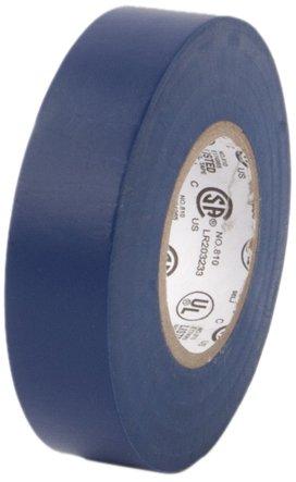 "Pratt Plus 001P3466Ftblu Vinyl General Purpose Standard Electrical Tape, 7 Mil Thick, 22 Yds Length X 3/4"" Width, Blue (Pack Of 10)"