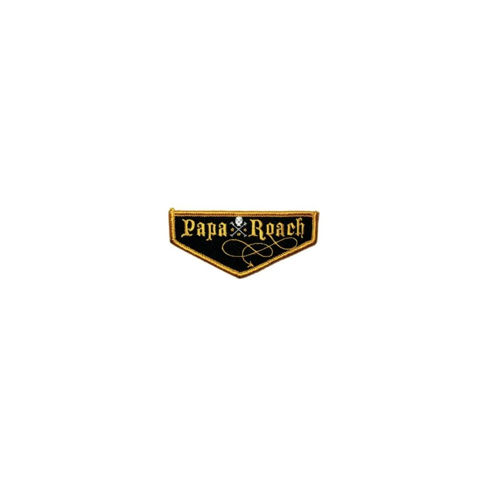 Papa Roach Skull Embroidered Iron On Logo Patch P 653