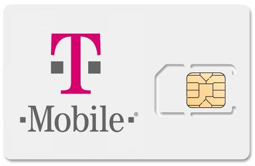 T-Mobile Czech Republic Micro Sim Card, 3G Internet $1 Per Day, Free Incoming Calls & Sms
