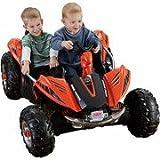 Fisher-Price Power Wheels Dune Racer 12-Volt Battery-Powered Ride-On, Orange