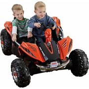Fisher-Price Power Wheels Dune Racer 12-Volt Battery-Powered Ride-On, Orange