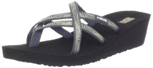 Teva Women'S Mush Mandalyn Wedge Ola 2 Flip Flop,Obscure Grey,6 M Us back-1012306