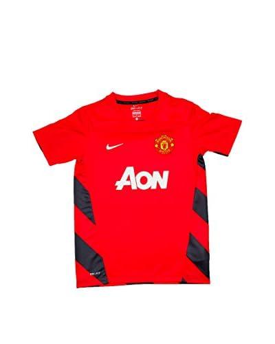 Nike Camiseta de Fútbol Manu Squad Rojo