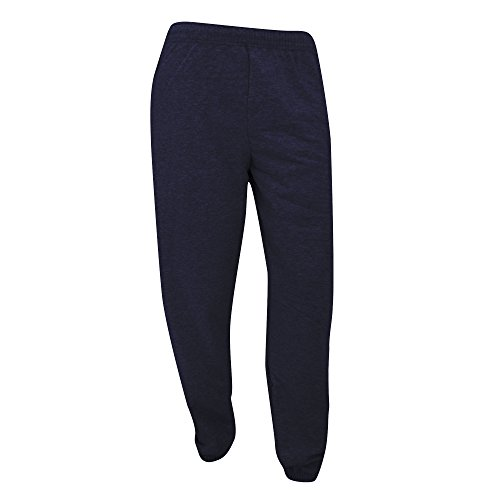 Fruit Of The Loom - Pantaloni Sportivi Stretta in Caviglia - Uomo (XL) (Blu scuro)