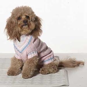 Preppy Tennis Sweater  - SM Powder Pink