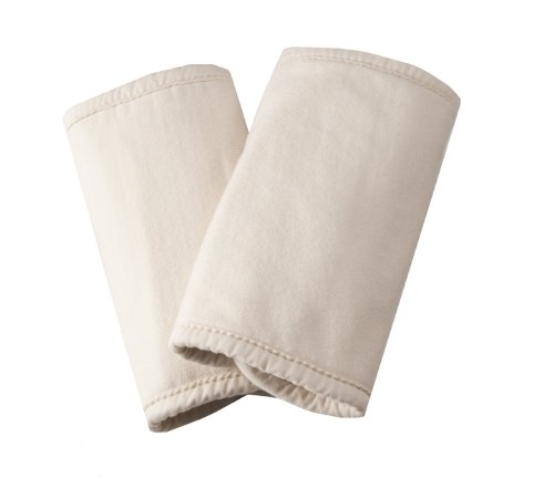 Purchase ERGObaby Organic Teething Pads with Snaps, Natural