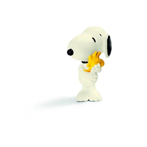 Schleich 22005 - Snoopy mit Woodstock, Spielzeugfiguren