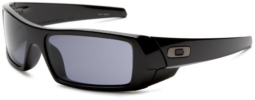 Oakley Men's GasCan Sunglasses,Polished Black