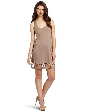 BCBGeneration Women's Knot Hem Tunic Dress, Twine, XX-Small