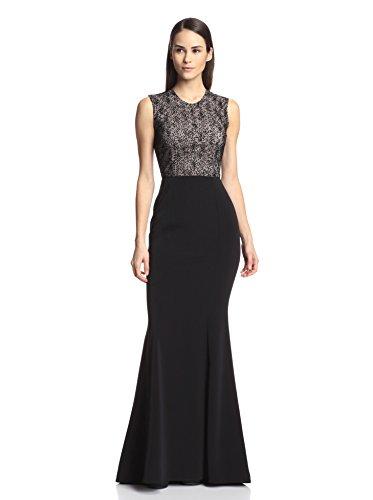 Nha Khanh Women's Nessa Dot Lace Gown