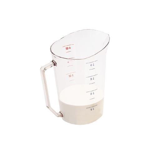 Liquid Measuring Cup, 4 Qt., Clear