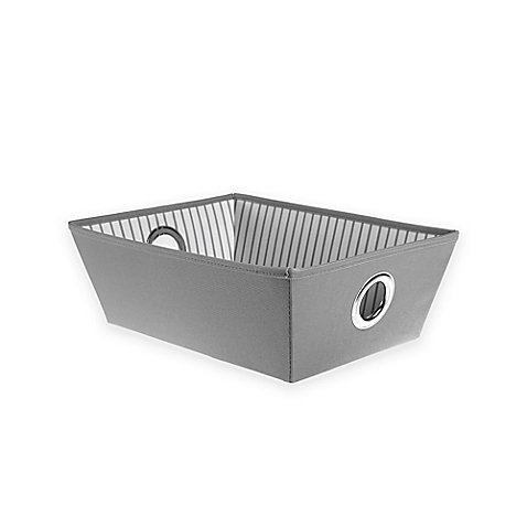 Studio 3BTM Heavyweight Shallow Grommet Tote in Grey Stripe (31 Rolling Thermal compare prices)